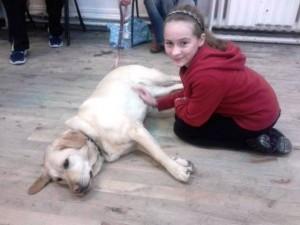 Lola (Sandy) & Sara (Annie)
